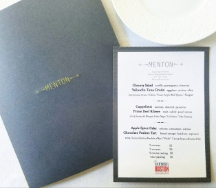 Dine out Boston lunch menu
