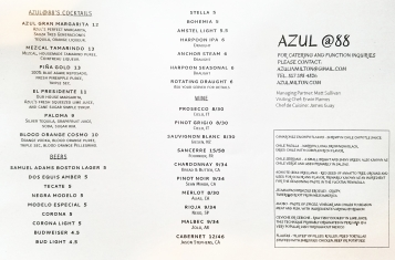 Regular Menu Back